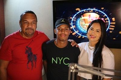 Romulo Costa , Dj Yago Gomes e Priscila Nocetti